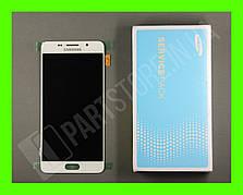 Дисплей Samsung а510 white а5 2016 (GH97-18250A) сервисный оригинал