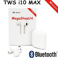 Наушники Bluetooth TWS AirPods i10 MAX. Маленькие беспроводные наушники Bluetooth гарнитура AirPods