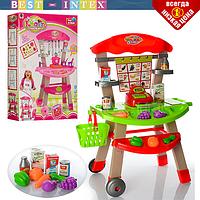 Детская игрушечная кухня магазин 661-81-82 звук свет