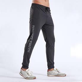 Мужские спортивные штаны серые 1027