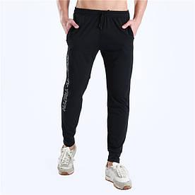 Мужские спортивные штаны черные 1026