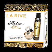 Женский подарочный набор La Rive Madame in Love (парф. вода, дезодорант) #B/E