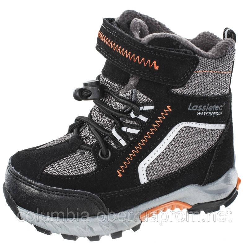 Зимние ботинки для мальчика LassieТес Carlisle 769112.9-999A. Размеры 22 - 35.