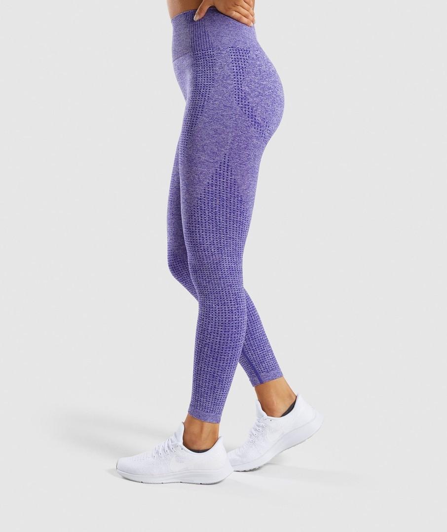 Фиолетовые лосины для спорта 4217