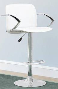 Кресло для макияжа Люкс, барный стульчик со спинкой высокий