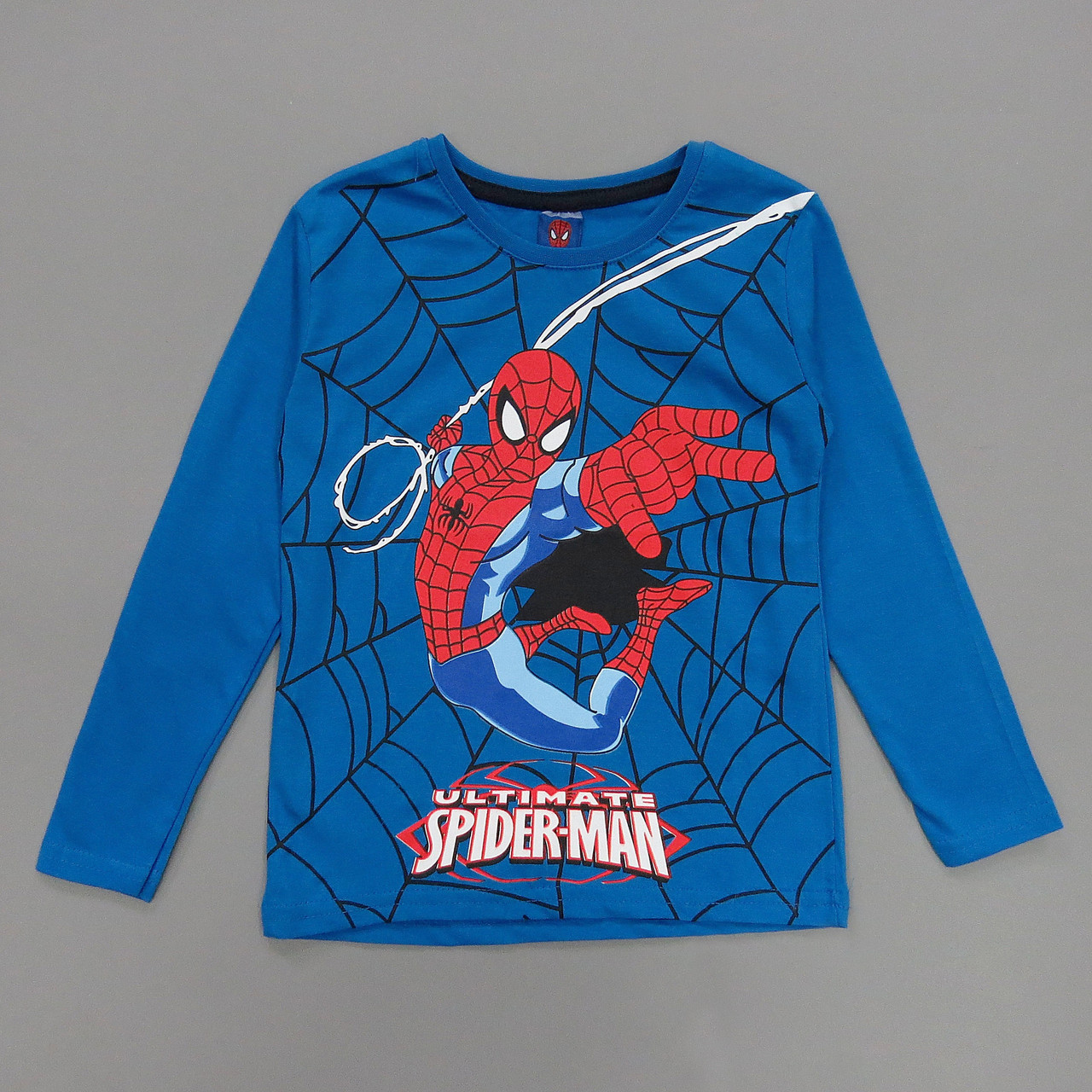 Лонгслив Spiderman для мальчика.