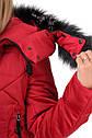 """Подростковое зимнее пальто на меху """"АЛИСА""""  Размеры 38- 44, фото 5"""