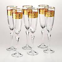 Набор бокалов для шампанского Crystalex 6 штук 674-120
