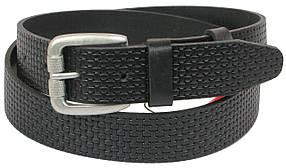 Кожаный ремень Skipper 110-130 x 3.8 см Черный (1081-38)