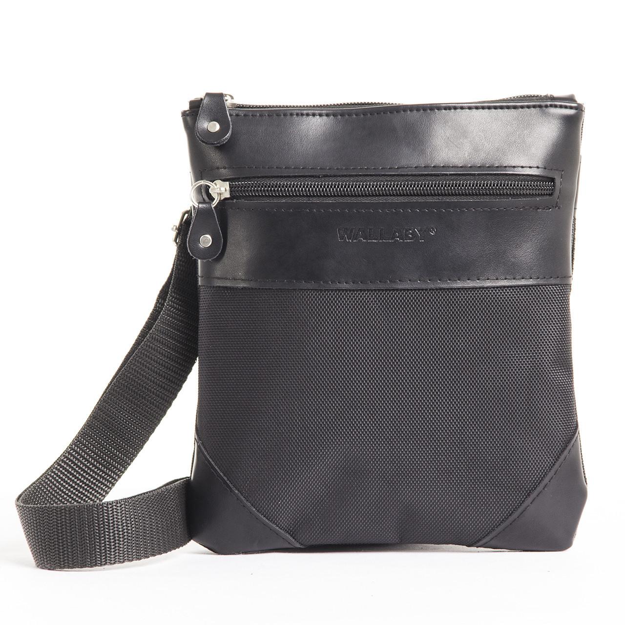 Мужская сумка-планшет Wallaby 21 х 20 х 5 см Черный (264)