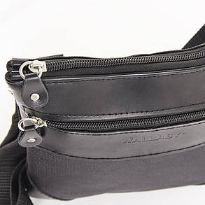 Мужская сумка-планшет Wallaby 21 х 20 х 5 см Черный (264), фото 2
