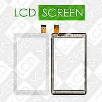 Тачскрин (touch screen, сенсорный экран) для планшетов 6.8; (белый) Pixus Play Three; Ployer Momo 9