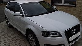 """Ветровики, дефлекторы окон Audi A3 hatchback 3-х дверный (8P) 2004-2012 """"VL-Tuning"""""""