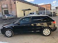 Дефлекторы окон Audi A3 hatchback 5-дв 8P 2004-2012 VL-Tuning Ветровики ауди а3 8п