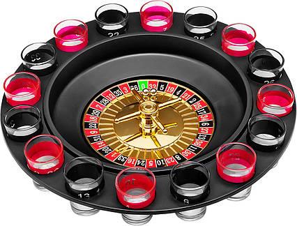 Подарунок чоловікові, Алкогольна рулетка, на 16 чарок, чорна, ігри з алкоголем, креативні подарунки, фото 2