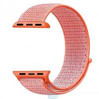 Ремешок Apple Watch Nylon Loop 42mm 04, spicy orange