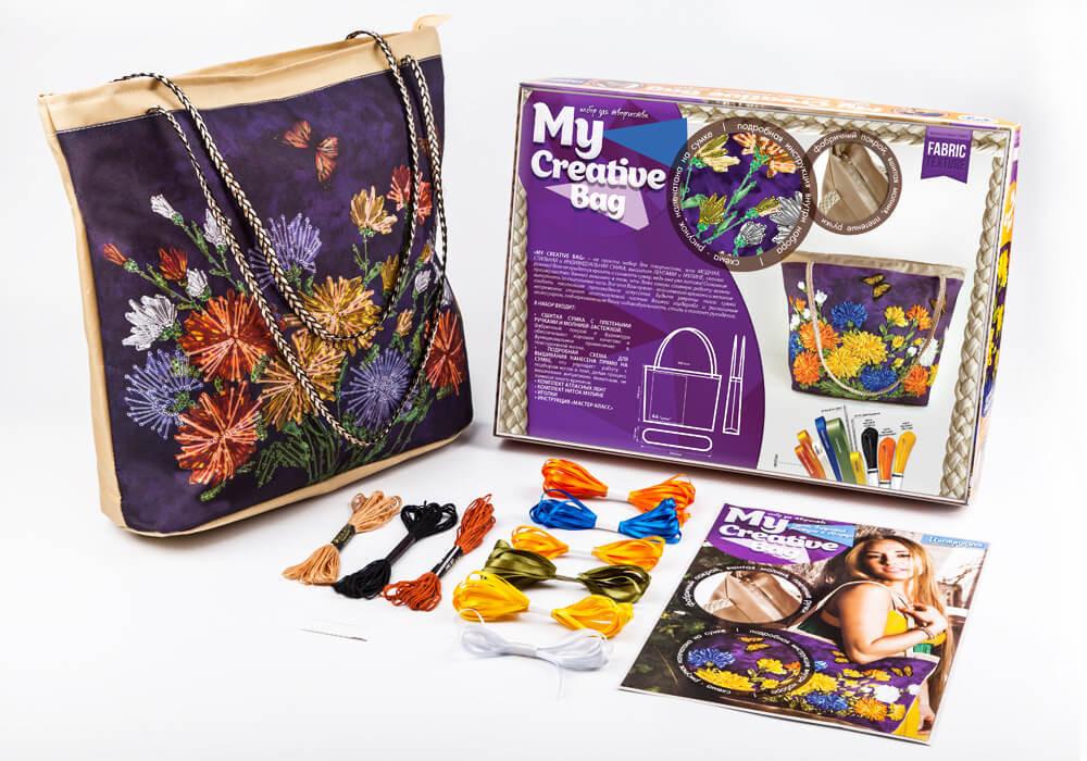 Набор для творчества  DankotoysMy Creative Bag моя креативная сумка (Q.120fr)