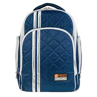 Рюкзак TIGER FAMILY школьный ортопедический для средней школы, универсальный, темно-синий