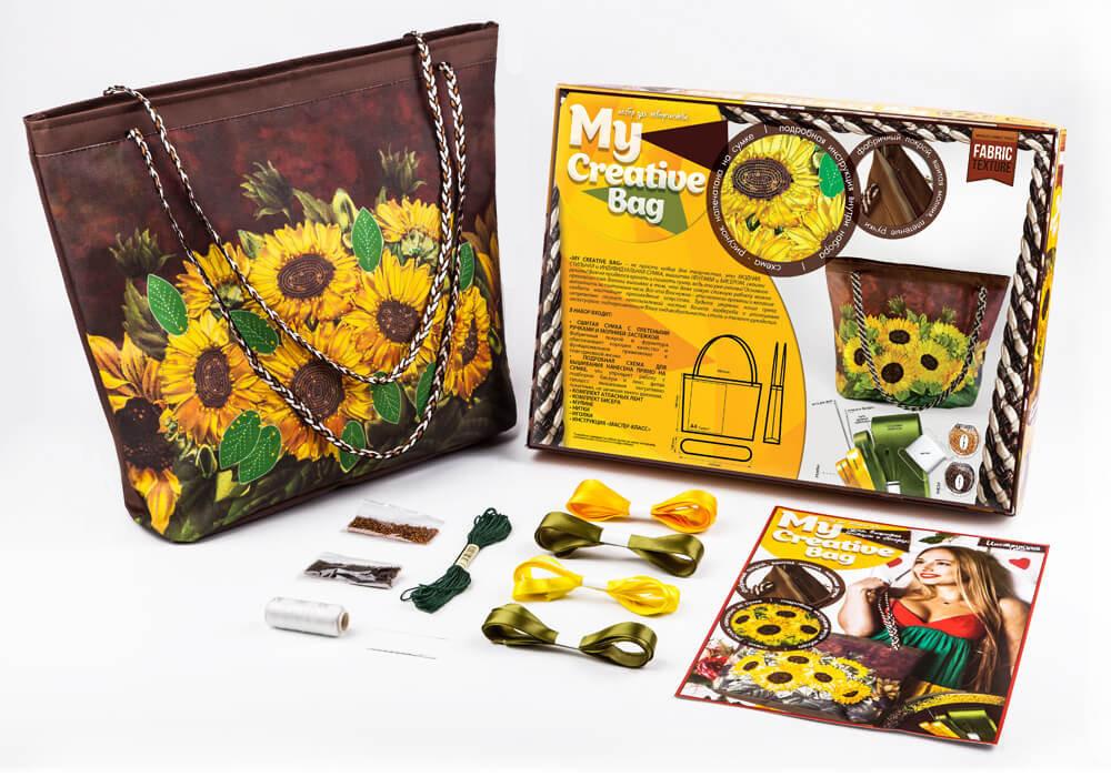 Набор для творчества Danko Toys My creative bag Подсолнухи Разноцветный (BJHGOISQ)