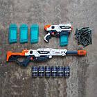 Супер набор скорострельных бластеров ZURU XShot Excel Max Attack and Hurricane, фото 5