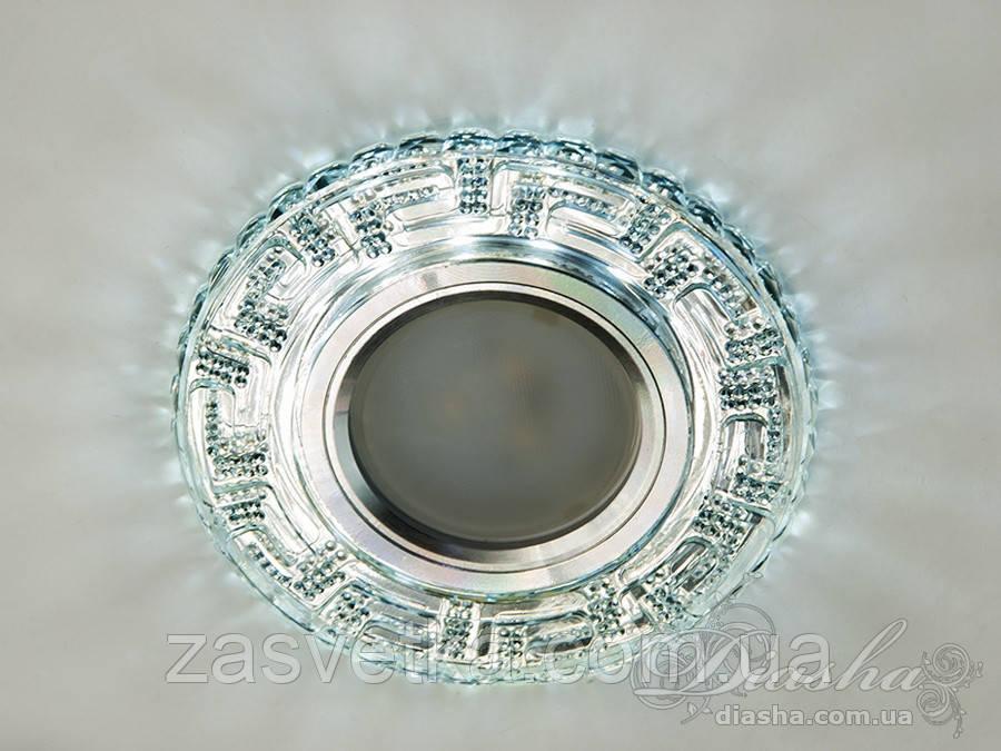 Точечные светильники с LED подсветкой 2101S WH