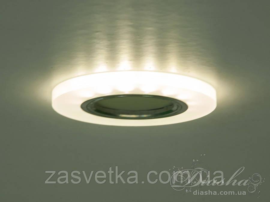 Акриловый точечный светильник со встроенной LED подсветкой 7870R