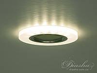 Акриловый точечный светильник со встроенной LED подсветкой 7870R, фото 1