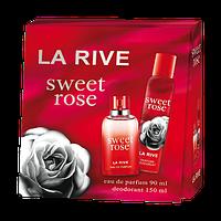Женский подарочный набор La Rive Sweet Rose (парф. вода, дезодорант) #B/E