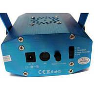 Лазерный проектор мини стробоскоп 6 в 1 Синий (005229), фото 3