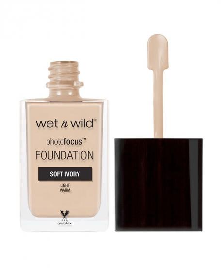 Тональная основа Wet n Wild Photo Focus Foundation Soft Ivory