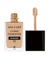 Тональная основа Wet n Wild Photo Focus Foundation Golden Beige, фото 1