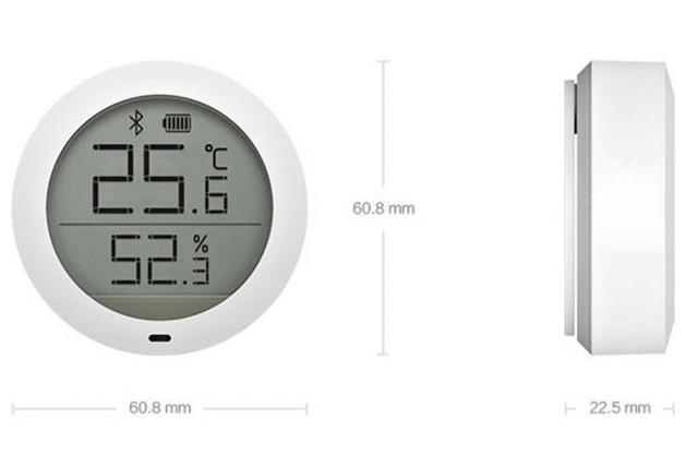 Датчик температуры и влажности Xiaomi Mijia Bluetooth Hygrothermograph LYWSDCGQ/01ZM