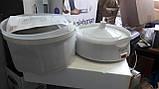 Электрическая машина для очистки картофеля Elgento E010 Electric Potato Peeler and Salad Spinner, 1 kg, White, фото 3