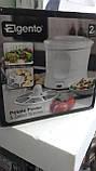Электрическая машина для очистки картофеля Elgento E010 Electric Potato Peeler and Salad Spinner, 1 kg, White, фото 5