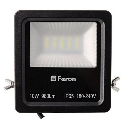 Прожектор светодиодный Feron LL-610 LED 20 LEDS Черный (007655), фото 2