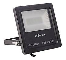 Прожектор светодиодный Feron LL-610 LED 20 LEDS Черный (007655), фото 3