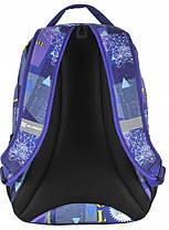 Рюкзак молодежный Paso 22 л Разноцветный (17-2708UE), фото 2