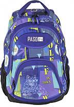 Рюкзак молодежный Paso 22 л Разноцветный (17-2708UE), фото 3