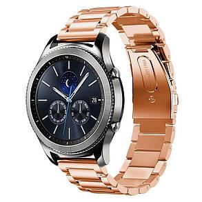 Ремешок BeWatch для Samsung Galaxy Watch 46 мм Rose Gold (1020438.2), фото 2
