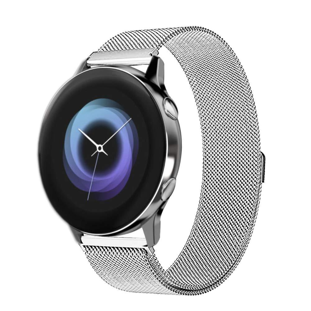 Ремешок BeWatch для смарт-часов Samsung Galaxy Watch Active Серебристый (1010205)