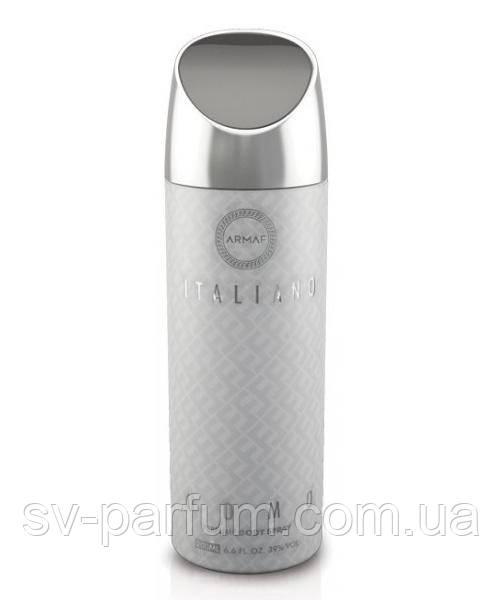 Парфюмированный дезодорант мужской Italiano Uomo 200ml