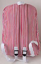 Рюкзак городской Vertical Stripe HHU00275 Красный (tau_krp330_00275), фото 2
