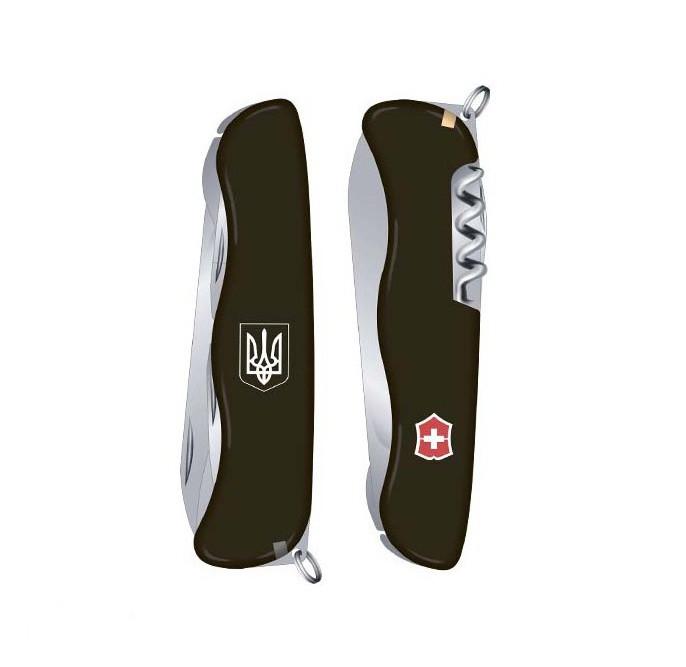 Нож Victorinox Nomad Ukraine Черный (0.8353.3R7)