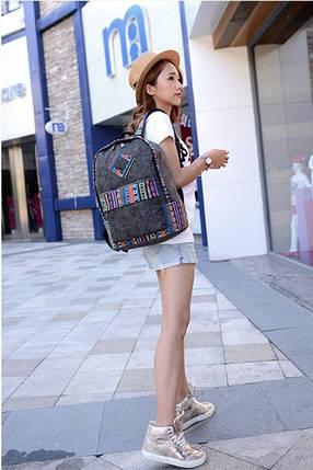 Рюкзак городской Etno QW00116 Серый (tau_krp312_00116ngr), фото 2