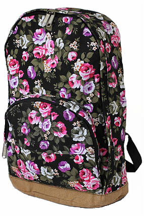 Рюкзак городской BH00133 Flowerbed Rose Black (tau_krp312_00133), фото 2