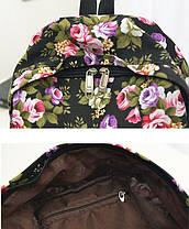 Рюкзак городской BH00133 Flowerbed Rose Black (tau_krp312_00133), фото 3