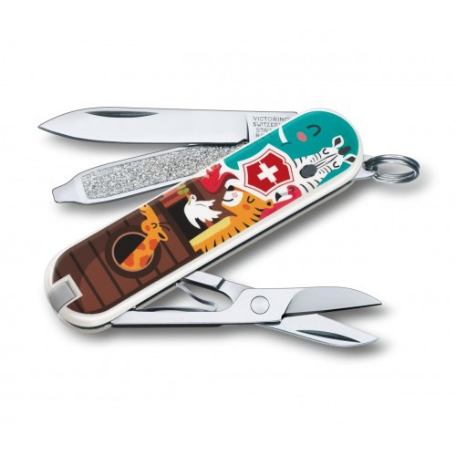 Швейцарский нож Victorinox Classic LE 2017 The Ark 58 мм Разноцветный (0.6223.L1703)
