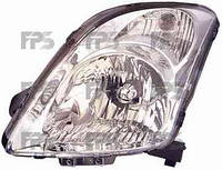 Фара передняя для Suzuki Swift '05-10 правая (DEPO) под электрокорректор