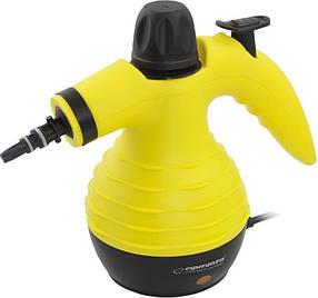 Пароочиститель Esperanza EHS001 Storm Желтый с черным (008697)