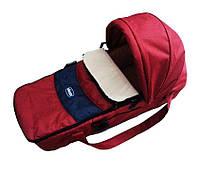Люлька-переноска для новорожденного ребенка Chicco Sacca Transporter Красный (963976576)